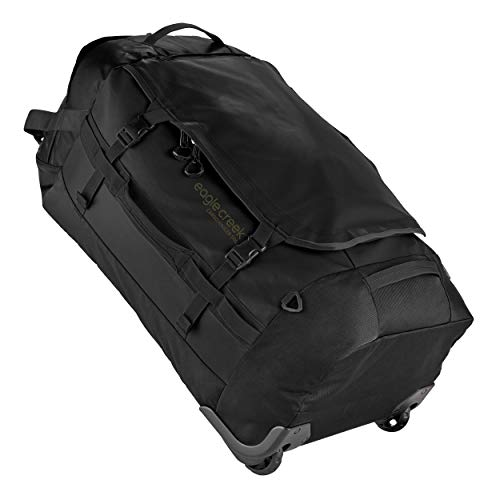 Eagle Creek Cargo Hauler Wheeled Bag-Large Duffel Carry On Luggage for Travel, Black, 120 L