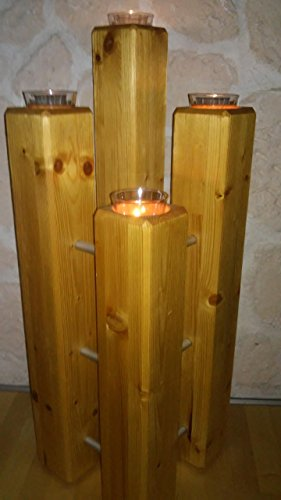 Kerzenständer Fichte gebürstet