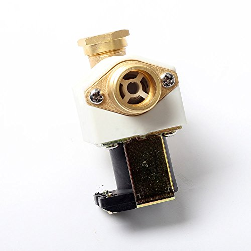 Merssavo DC 12V Solenoid Valve Copper Joint For Water, Air And Low Viscosity Fluids