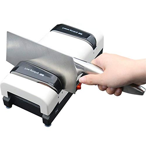 KAIXIN Knife Sharpener, Electric Knife and Tool sharpeners Best High Temperature Automatic Power-Off Protection/5 Seconds Speed Grinding