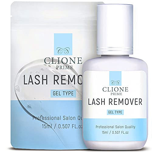 Eyelash Extension Gel Glue Remover - 15ml Lash Remover - Fast Dissolution, Easy To Use, Quick Removal Of Lash Adhesive, Salon & Home Use, Powerful Adhesive Dissolver, No Scent & Burns by Clione Prime