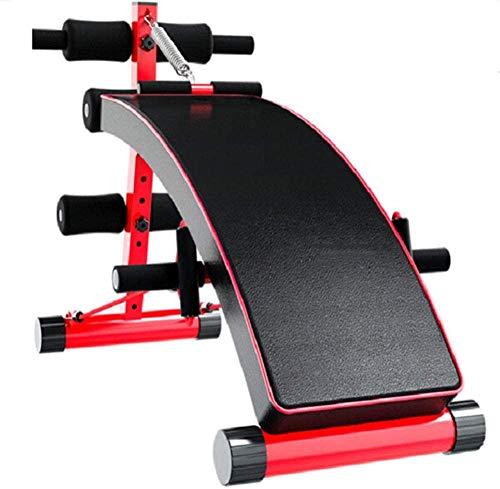 JWCN Verstellbare Fitnessbänke Universal-Hantelbank Multifunktionale Bauchneigungsplatte 4 Die verstellbare Schrägbank hat eine maximale Gewichtskapazität von 150 kg. Verstellbare Faltbare