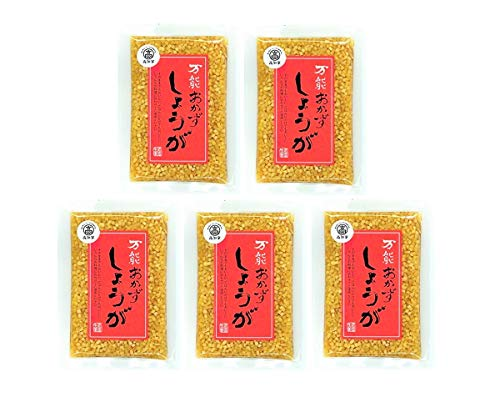 [四国健商] 高知県産 生姜/万能おかずしょうが 130g×5袋 (国産)