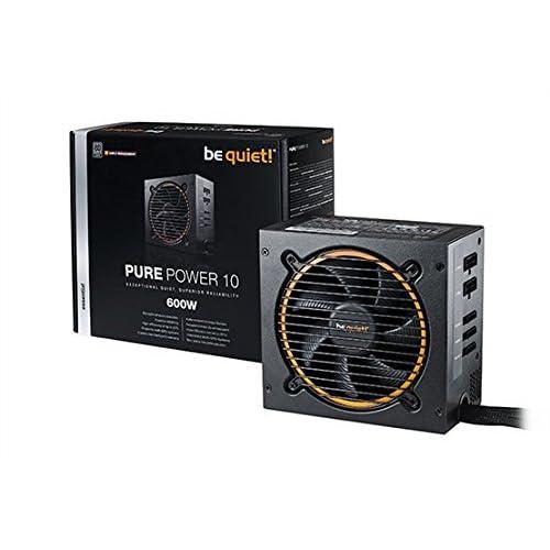 be quiet! Pure Power 10 600W ATX PC Netzteil BN278 mit Kabelmanagement