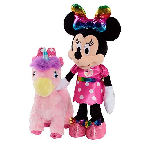 Minnie Walk & Dance Unicorn Feature Plush Packaging