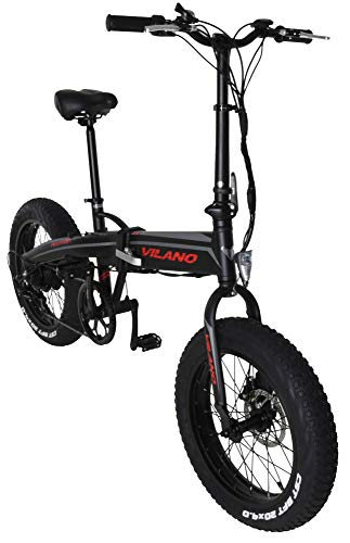 Vilano Neutron Electric Folding Fat Bike