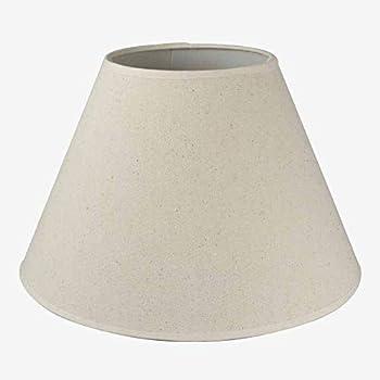 Better & Best 50 Rotor Paralume in lino, rotondo, 50 cm, colore: crema