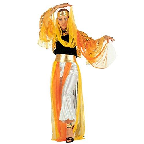 Orient Kostüm Harem Bauchtanzkostüm M 38/40 Haremsdame Damenkostüm Bauchtanz Fasching Arabische Prinzessin Faschingskostüm Bauchtänzerin Karnevalskostüm Damen 1001 Nacht Mottoparty