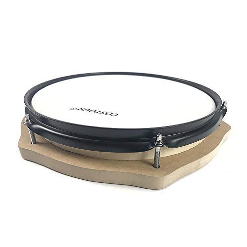 KTOO 12 Zoll Drum Practice Pad Silent Drum für Schlagzeuganfänger
