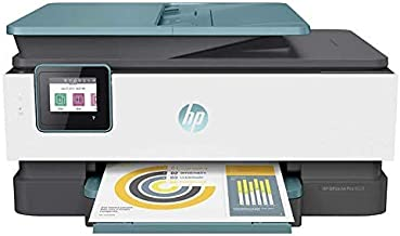 $114 » HP Officejet Pro 8028/8025 All-in-One Printer, Scan, Copy, Fax, Wi-Fi and Cloud-Based Wireless Printing (3UC64A) (Renewed)