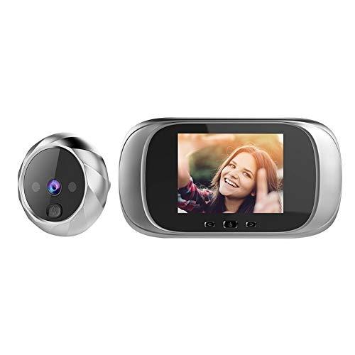 Espectador de la puerta digital de mirilla de la puerta timbre de la cámara de la pantalla LCD de 2.8 pulgadas visión nocturna sesión fotográfica digital de puerta Monitoreo de la seguridad en casa In