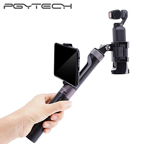 PGYTECH Osmo Pocket Selfie Stick Hand Grip & Tripod for Osmo Pocket for Gopro Hero 6 5 4 /Xiaomi Yi Action Camera Accessories