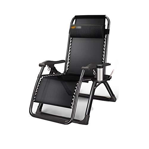 Chaise longue YNN Pliantes et inclinables inclinables intempéries 4 Choix 180x65c40cm (Couleur : B)