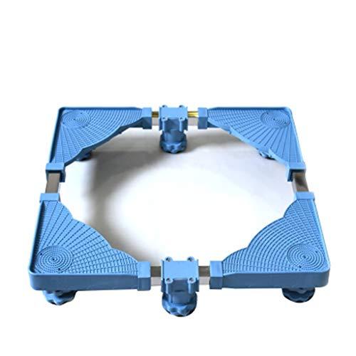 DNSJB Amortisseur antidérapant Augmentant Le Tambour de Roue de Vague Fixe de parenthèse de parenthèse de parenthèse de Support de Machine à Laver avec 6 Pieds forts