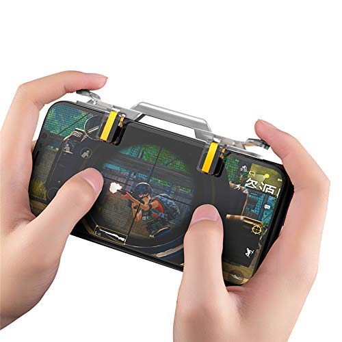 MeterMall CE Mobile Game Fire Button Aim Key Phone Gaming Trigger für PUBG Rules of Survival L1 R1 Shooter