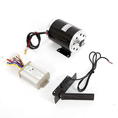 SHZICMY Motor eléctrico de 1000 W, 48 V, con caja de control y válvula de estrangulamiento, cepillo de motor