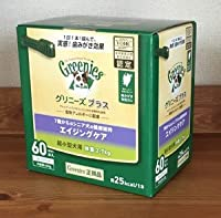 【正規品】グリニーズプラス エイジングケア 超小型犬用 体重2-7kg 60P【ボックス】