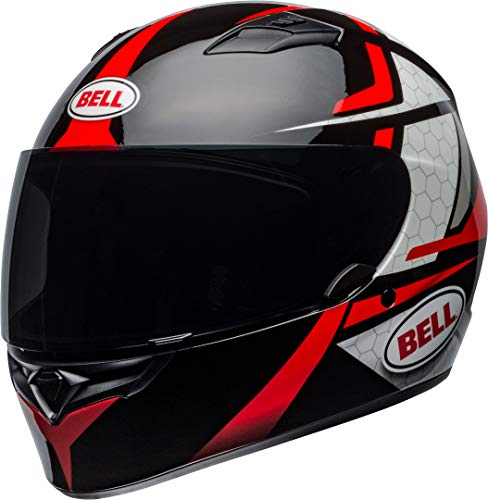 BELL QUALIFIER FLARE HELMET GLOSS BLACK/RED L