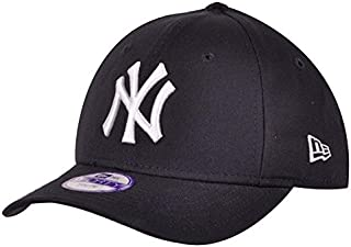 promo code 00637 76fed New Era Boy s Kids MLB Basic NY Yankees 9Forty Adjustable Cap