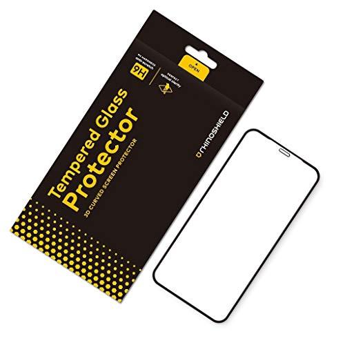 RhinoShield Protection écran Verre trempé Compatible avec [iPhone XS/X / 11 Pro] - Résistance maximale aux Rayures et aux Traces de Doigt