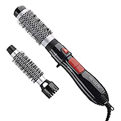 in budget affordable Revlon Ceramic Hot Air Brush Set with 1 and 1-1 / 2″ Attachments