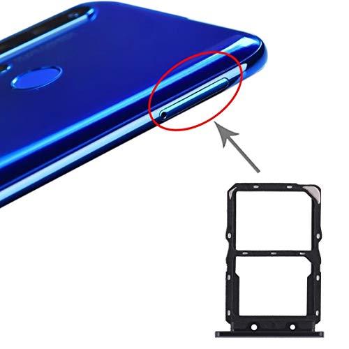 Liluyao Hdfht Bandeja de Tarjeta SIM Bandeja de Tarjeta NM for Huawei Nova 5 Piezas de Repuesto de Huawei (Color : Black)