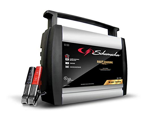 Schumacher SC1301 6/12V Fully Automatic Battery Charger and 6A Maintainer