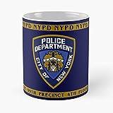 Generic Brooklyn Police New Precinct NYPD Department 99Th City 99 York Nine Migliore Tazza da caffè Regalo 11 oz