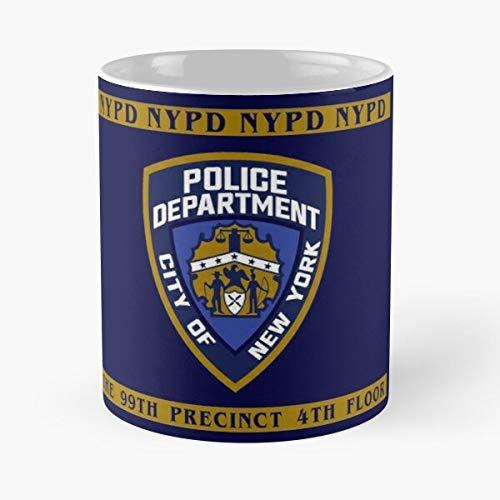 Police Nine Department 99Th 99 Precinct 4Th Floor York Brooklyn NYPD New Best 11 oz Kaffeebecher - Nespresso Tassen Kaffee Motive