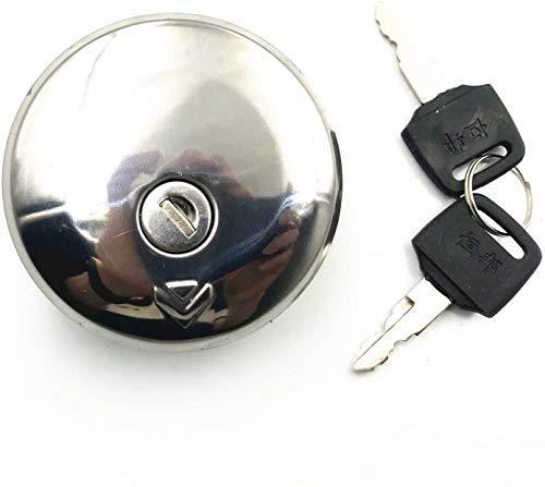 SHUAIFEI Interruptor de Bloqueo del Tapa del Tanque de Gas Combustible Compatible con Suzuki GN GS 125 250 400T GS750L GS1100L GS850GL ES