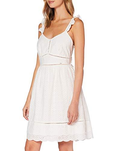 Superdry Damen GIA CAMI Dress Kleid, Weiß (White 04C), S (Herstellergröße:10)