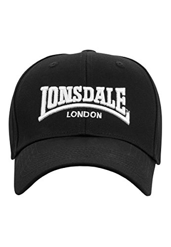 Lonsdale London Herren Snapback Caps Wigston schwarz Verstellbar