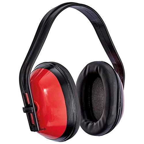silverline Kapselgehörschutz PROTEKT BASIC, Gehörschutz, Gehörschutzkapsel 25dB, Helm Gehörschutz, Lernhilfe für Schulunterricht, Kindergehörschutz
