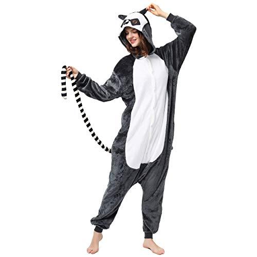 Lemur Affen Kostüm