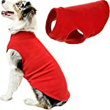 Gooby Stretch Fleece Vest Dog Sweater - Red, 3X-Large - Warm Pullover Fleece Dog Jacket - Winter Dog Clothes for Small Dogs Boy or Girl - Dog Sweaters for Small Dogs to Dog Sweaters for Large Dogs