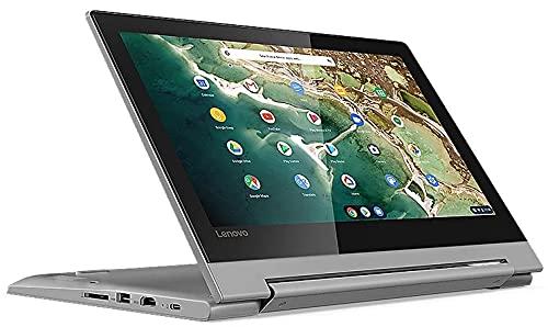 Lenovo (11,6 Zoll HD+) ChromeBook (1.2kg), großer 10h Akku, Quad Core CPU 2.10 GHz, 4GB RAM, 64GB eMMC SSD, Power VR GX6250, Webcam, BT, USB 3.0, WLAN, ChromeOS Laptop #6758