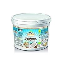 Premium Bio Kokosmehl (1300g) - Kaltgepresst unter 38°C Presstemperatur - Rohkostqualität