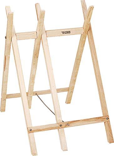 Triuso Sägebock für Kettensäge Holzsägebock Bock Sägegestell
