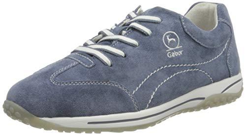 Gabor Shoes Comfort Basic, Zapatillas Mujer, Azul (Nautic 34), 43 EU