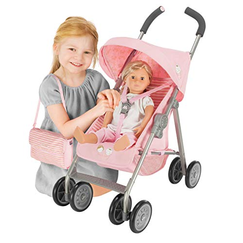 Maclaren Junior XT Mac la Reine- Imagination at Play. Toy Stroller fits Doll up to 18in. One time Assembly