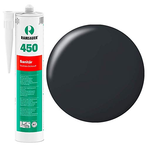 Ramsauer 450 1K Silikon Dichtstoff 310ml Kartusche (Dunkelanthrazit)