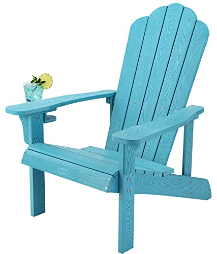 Adirondack Chair Weather Resistant, Hard Plastic Adirondack...