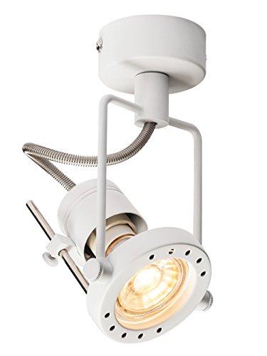 LED Strahler N-TIC dreh- und schwenkbar | Smarte Wand- und Decken-Leuchte zur individuellen Innen-Beleuchtung | Decken-Spot, Deckenfluter, Deckenstrahler, Decken-Lampe, Wand-Lampe | GU10, EEK bis A++