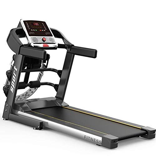 YLJYJ Cinta de Correr eléctrica motorizada Máquina de Correr Plegable con máquina de Masaje Control Digital 1.0CHP Motor hasta 12KM / H Programas WAL (Deportes)