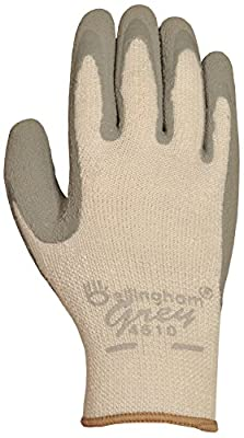 Bellingham 4510L Grey Premium Looped-Terry Acrylic Knit Insulated Work Gloves