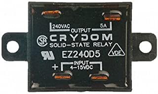 25 A Zero Voltage Turn On SPST-NO A2425 Panel 280 VAC Screw Solid State Relay