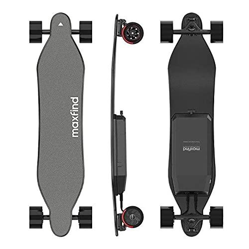 Maxfind Skateboard Max4 Pro - 40' Electric Skateboard, 25 MPH Top Speed, 750W Dual...
