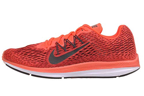 Nike Men's Zoom Winflo (10.5 D US, Bright Crimson/Oil Grey)