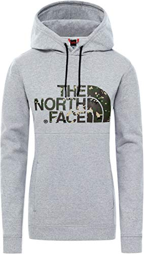 The North Face Sudadera Peak Gris Mujer