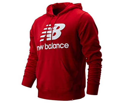 Essentials Stacked Logo Pullover Hoodie,MT91547 (L)